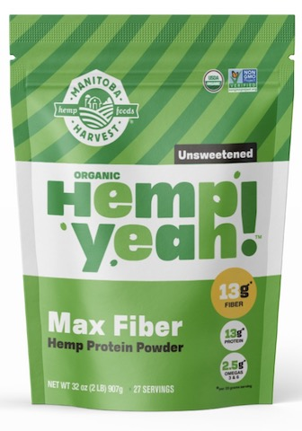 Image of Hemp Yeah! Max Fiber (Hemp Protein Powder) Unsweetened
