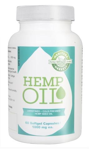 Image of Hemp Oil 1000 mg Softgel