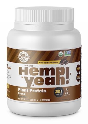 Image of Hemp Yeah! Plant Protein Blend Powder Chocolate