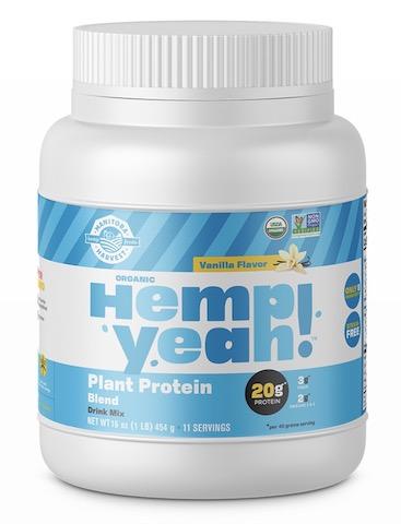 Image of Hemp Yeah! Plant Protein Blend Powder Vanilla