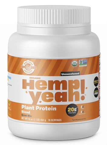 Image of Hemp Yeah! Plant Protein Blend Powder Unsweetened
