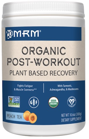Image of Organic Post-Workout (Plant Based) Powder Peach Tea