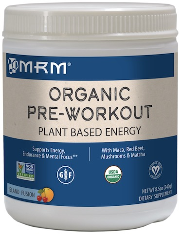 Image of Organic Pre-Workout (Plant Based) Powder Island Fusion