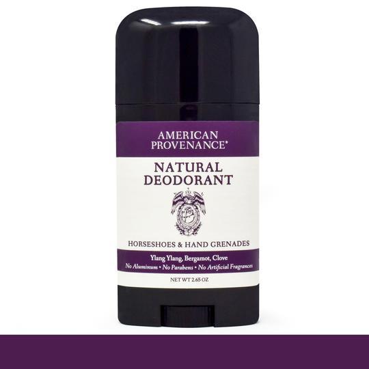 Image of Horseshoes & Hand Grenades Deodorant; Ylang Ylang, Bergamot, Clove