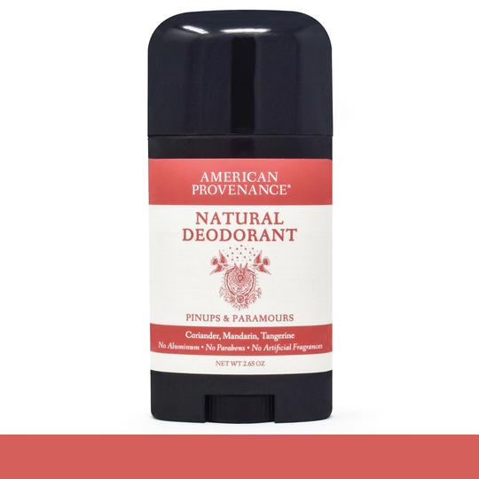 Image of Pinups & Paramours Deodorant; Coriander, Mandarin, Tangerine