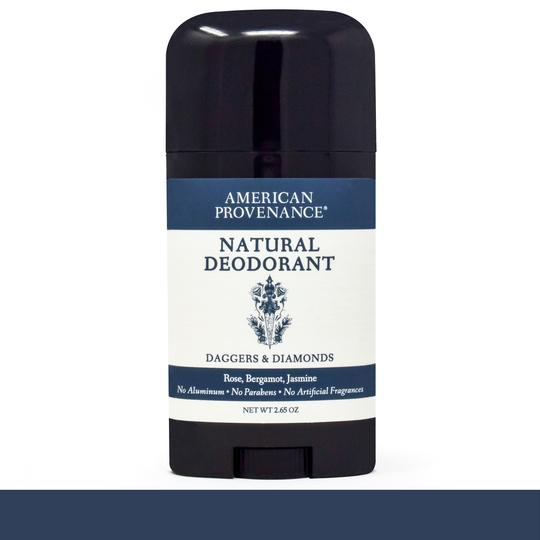 Image of Daggers & Diamonds Deodorant; Rose, Bergamot & Jasmine