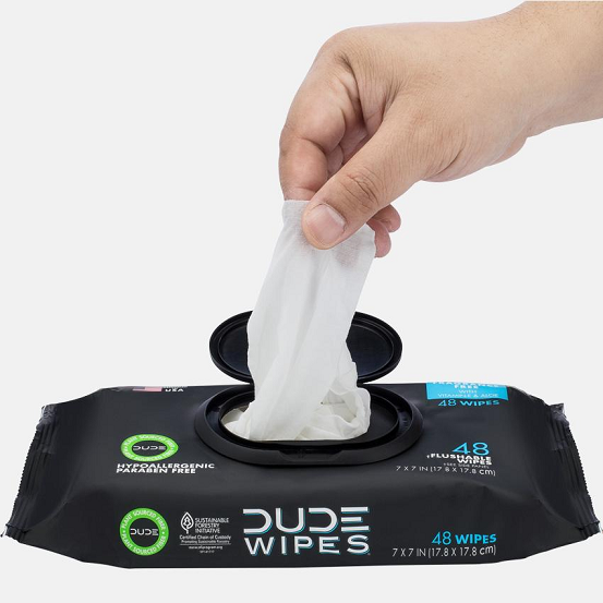 Image of DUDE Wipes - 48ct Dispenser (Flushable)