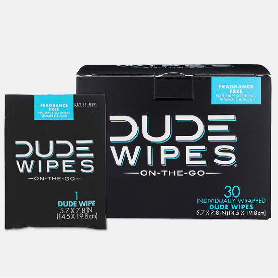Image of DUDE Wipes - 30pk Singles (Flushable)