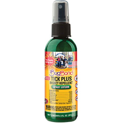 Image of Bugband Tick Plus Insect Repellent Spray Lotion