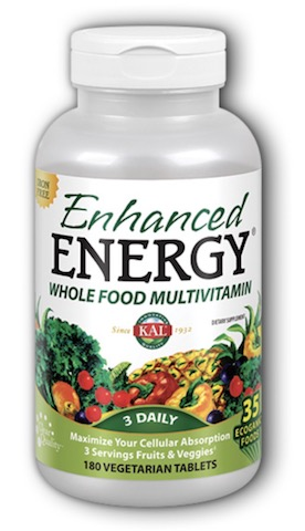 Image of Enhanced Energy Whole Food Multivitamin Iron Free