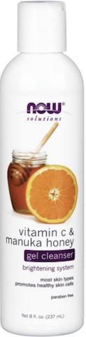 Image of Facial Care Vitamin C & Manuka Honey Gel Cleanser