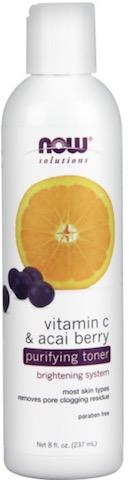 Image of Facial Care Vitamin C & Acai Berry Purifying Toner