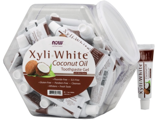 Image of XyliWhite Toothpaste Gel Coconut Oil (in Bowl)