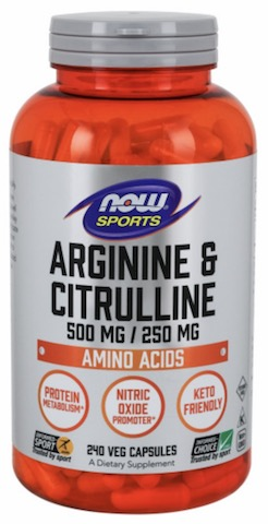 Image of Arginine & Citrulline 500/250 mg