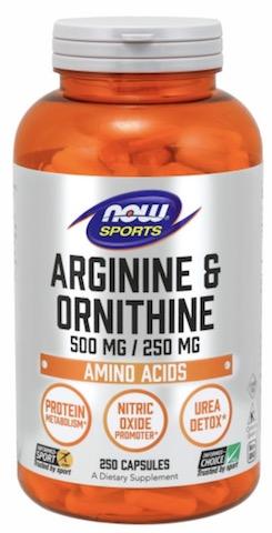 Image of Arginine & Ornithine 500/250 mg
