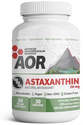 Image of Astaxanthin 20 mg