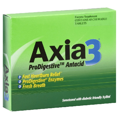 Image of Axia3 Progestive Antacid Heartburn Relief