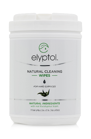 Image of Natural Cleaning Hard Surface Wipes