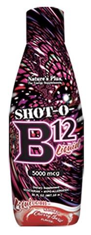 Image of Shot-O-B12 5000 mcg Liquid Cherry Burst