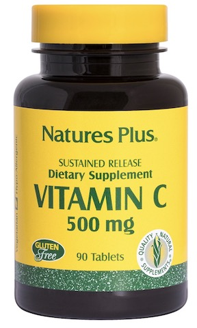 Image of Vitamin C 500 mg with Rose Hips Sustained Release