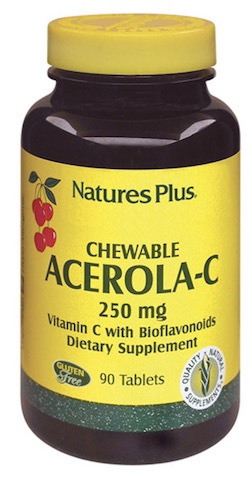 Image of Acerola-C 250 mg Vitamin C with Bioflavonoids Chewable