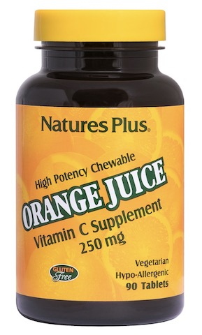 Image of Orange Juice Vitamin C 250 mg Chewable