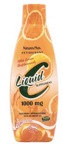 Image of Vitamin C 1000 mg with Bioflavonoids Liquid Orange