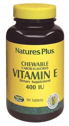 Image of Vitamin E 400 IU Chewable Carob