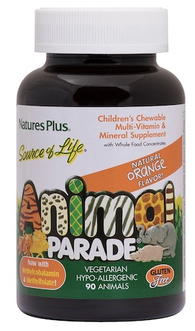 Image of Animal Parade Children's Multivitamin Chewable Orange