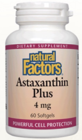 Image of Astaxanthin Plus 4 mg
