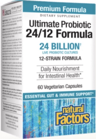Image of Ultimate Probiotic 24/12 Formula 24 Billion