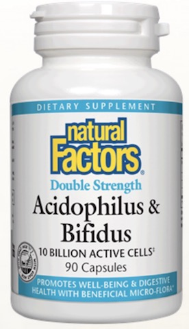 Image of Acidophilus & Bifidus 10 Billion Double Strength