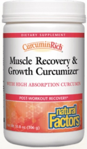 Image of CurcuminRich Muscle Recovery & Growth Curcumizer Powder