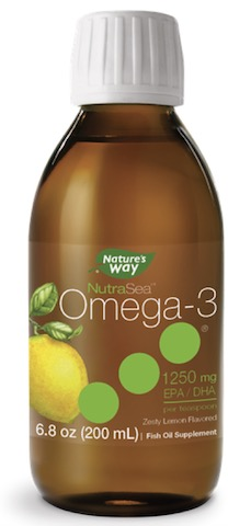 Image of NutraSea Omega-3 1250 mg Liquid Zesty Lemon