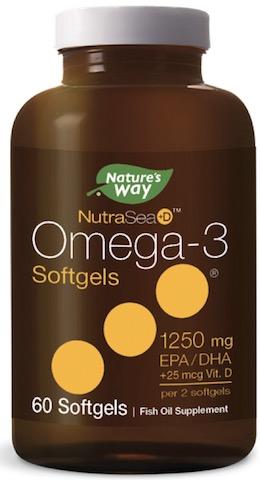Image of NutraSea+D Omega-3 + Vitamin D 625mg/12.5mcg Softgel Mint
