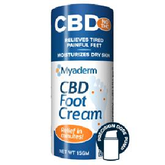 Image of CBD Foot Cream