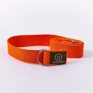 Image of Hemp Yoga Sling Strap- Flame