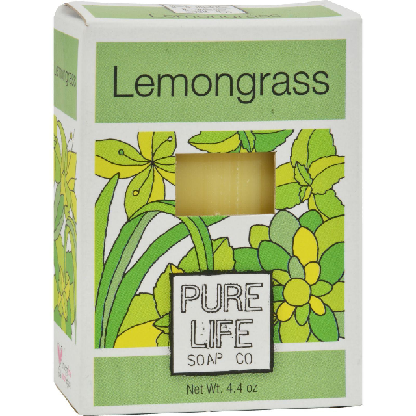 Image of Lemongrass & Mint Bar Soap