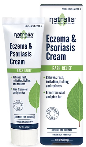 Image of Eczema & Psoriasis Cream (Rash Relief)