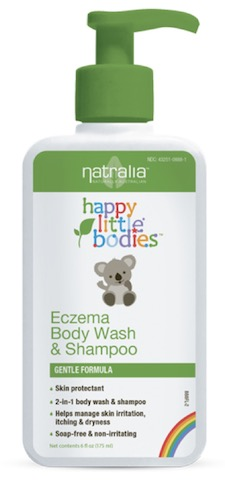 Image of Happy Little Bodies Eczema Body Wash & Shampoo
