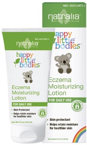 Image of Happy Little Bodies Eczema Moisturizing Lotion