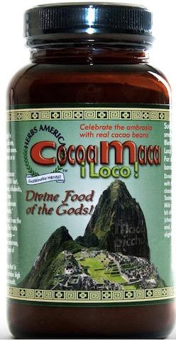 Image of Cocoa Maca Loco Smoothie Blend Powder