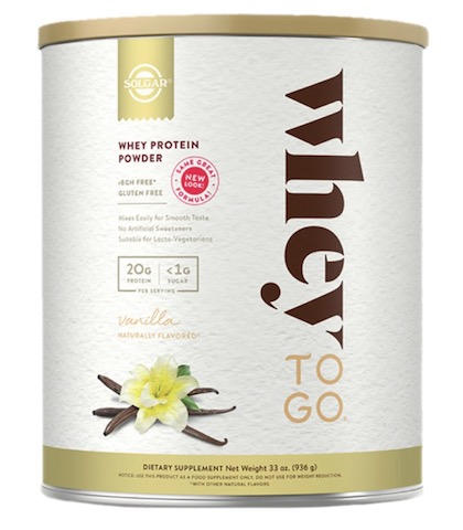 Image of Whey To Go Whey Protein Powder Vanilla Bean