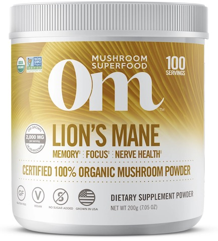 Image of Lion's Mane Mushroom Powder Organic