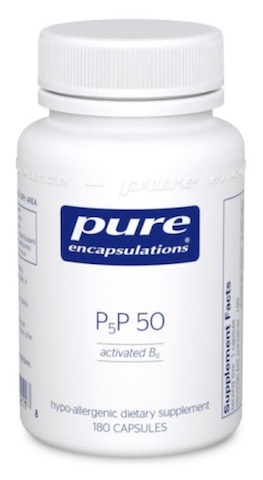 Image of P-5-P 50 (activated vitamin B6)
