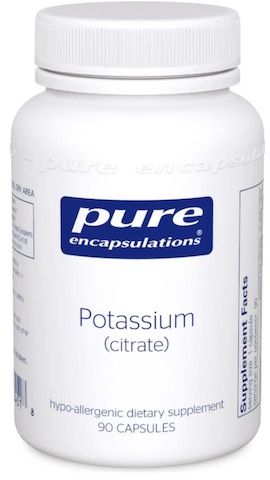 Image of Potassium (citrate) 200 mg