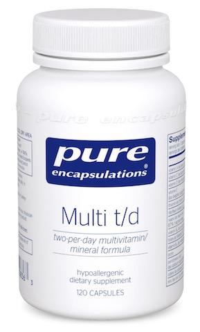 Image of Multi t/d (Two per Day Multivitamin/Mineral)
