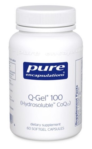 Image of Q-Gel 100 mg (Hydrosoluble™ CoQ10)