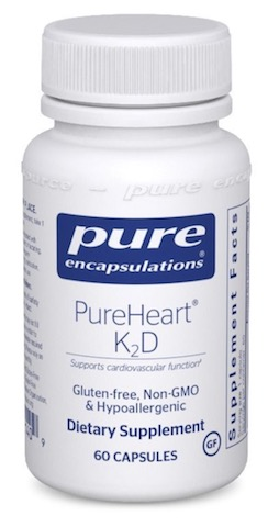 Image of PureHeart K2D 25/240 mcg