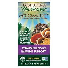 Image of Fungi Perfecti MyCommunity 17 Mushroom Complex (2 bottle maximum per order)